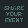 shareyourevent.test Logo